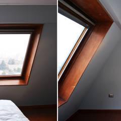 DEPTO. PSV.: Dormitorios de estilo  por ESTUDIO BASE ARQUITECTOS