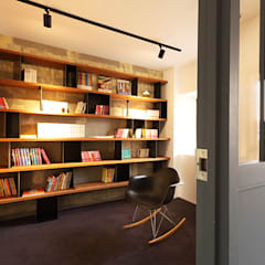 eclectic Study/office by SWITCH&Co.