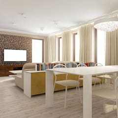 Dining room by TISSU Architecture