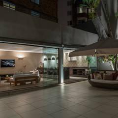 Projeto DSC: Piscinas  por Andréa Buratto Arquitetura & Decoração