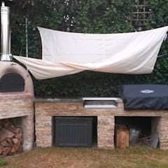 rustic Garden by wood-fired oven