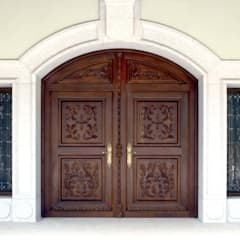 Wooden doors by homify,
