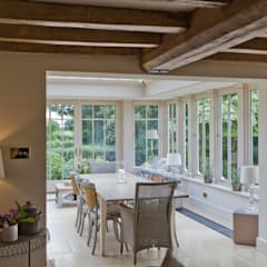 Interesting Orangery with Dentil Moulding:  Conservatory by Vale Garden Houses