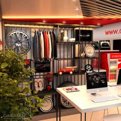 Dalcar Store Concessionárias modernas por Rafaela Dal'Maso Arquitetura Moderno