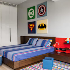 Homes:  Nursery/kid's room by Rakeshh Jeswaani Interior Architects