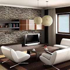 Living room by Innovate Interiors & Fabricators,