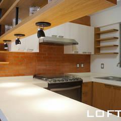 Cocina : Cocinas de estilo  por LOFT ESTUDIO arquitectura y diseño
