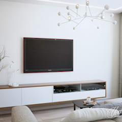 Living room by Студия Инстильер   Studio Instilier,