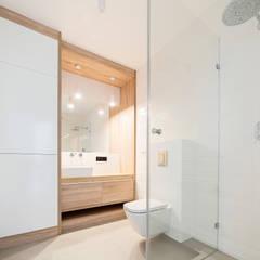 Naturalna łazienka: styl , w kategorii Łazienka zaprojektowany przez Kokon Studio Karolina Alicja Prałat