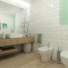 Baños de estilo  por homify, Escandinavo