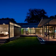 Casa Abierta:  Houses by KUBE Architecture, Modern