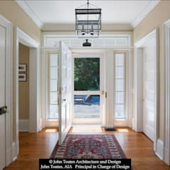 Classic style corridor, hallway and stairs by John Toates Architecture and Design Classic