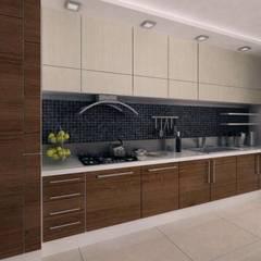 VERO CONCEPT MİMARLIK – İpek Gürel Villa: modern tarz Mutfak