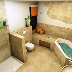 Mediterranes Flair und Urlaubsfeeling :  Badezimmer von Bad Campioni