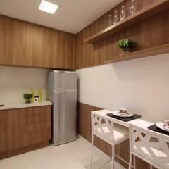 Cuisine de style  par Pricila Dalzochio Arquitetura e Interiores, Moderne