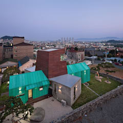 TOWER HOUSE: ON ARCHITECTURE INC.의  주택