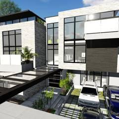 Proyecto Casa Querales Californiana 01: Casas de estilo  por Arquitectura Creativa