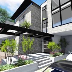 Proyecto Casa Querales Californiana 05: Casas de estilo  por Arquitectura Creativa