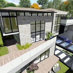 Proyecto Casa Querales Californiana 09: Casas de estilo  por Arquitectura Creativa