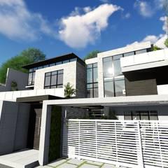 Proyecto Casa Querales Californiana 10: Casas de estilo  por Arquitectura Creativa