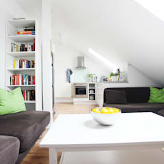 Küche - Green Residence Villa Apartment - made by N51E12:  Hotels von N51E12 - design & manufacture
