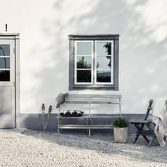 Il fascino dello stile nordico in una villa del '700: Case in stile  di Design for Love
