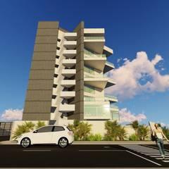 """Conjunto de Apartamentos """"Puerto Plata"""": Closets de estilo  por Grupo JOV Arquitectos, Moderno"""