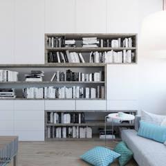 ห้องทำงาน/อ่านหนังสือ by Ludwinowska Studio Architektury