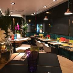 Bars & clubs by asieracuriola arquitectos en San Sebastian,