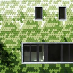 tile facade: modern Houses by brandt+simon architekten