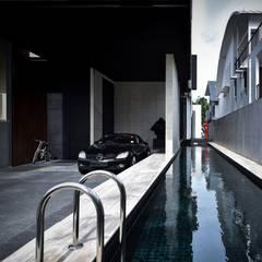 Ng邸: Sen's Photographyたてもの写真工房すえひろが手掛けたプールです。