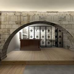 酒窖 by A3 Ateliê Academia de Arquitectura,
