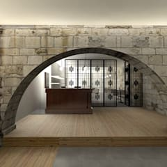 Wine cellar by A3 Ateliê Academia de Arquitectura,