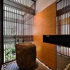 GG邸: Sen's Photographyたてもの写真工房すえひろが手掛けた浴室です。