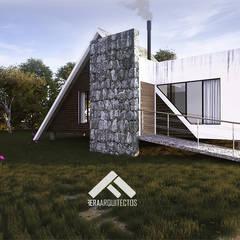 Proyecto Cabaña: Casas de estilo  por FERAARQUITECTOS,
