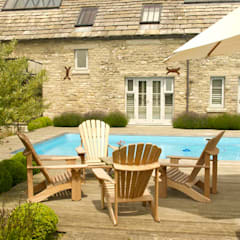 Dorset Country Farmhouse.:  Pool by Elks-Smith Landscape and Garden Design
