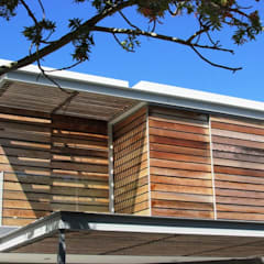 Wester Red Cedar Cladding:  Windows by Window + Door Store Cape