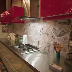 SECTOR COCINA : Cocinas de estilo ecléctico por G7 Grupo Creativo