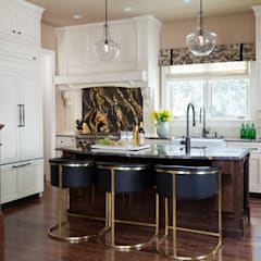 Supremely Sophisticated:  Kitchen by Andrea Schumacher Interiors
