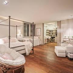 Casa CSF: Recámaras de estilo  por Lopez Duplan Arquitectos