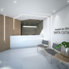 Hospital dos Olhos de Santa Catarina: Hospitais  por TÉRREO arquitetos