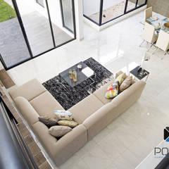 PROYECTO NN23: Salas de estilo  por PORTO Arquitectura + Diseño de Interiores,