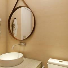 Projeto 3d: Banheiros  por 285 arquitetura e urbanismo