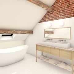 Baños de estilo  por De Nieuwe Context