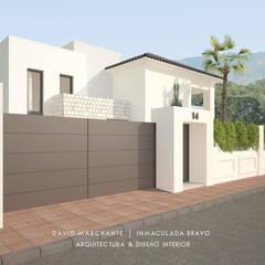 Vivienda en la Capellanía (Málaga): Casas de estilo  de David Marchante     Inmaculada Bravo