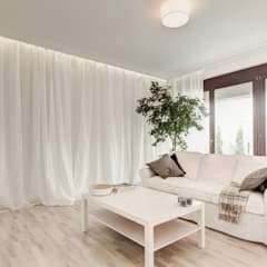 Klasyka na nowo: styl , w kategorii Salon zaprojektowany przez Perfect Space