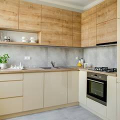 Mieszkanie dla singla: styl , w kategorii Kuchnia zaprojektowany przez Perfect Space