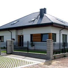DOM W CENIE MIESZKANIA - Flo II : styl , w kategorii Domy zaprojektowany przez Pracownia Projektowa ARCHIPELAG,