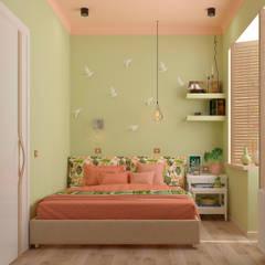 "Спальня ""Harmony"" vol. 1: Спальни в . Автор – Студия дизайна Дарьи Одарюк,"