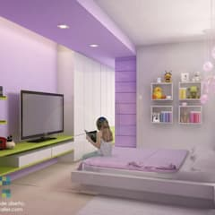 Nursery/kid's room by BCA Arch and Interiors